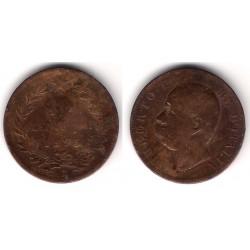 (27.1) Italia. 1893(R). 10 Centesimi (RC)