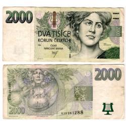 (16) República Checa. 1996. 2000 Korun (MBC)