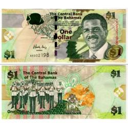 (71) Bahamas. 2008. 1 Dollar (SC)