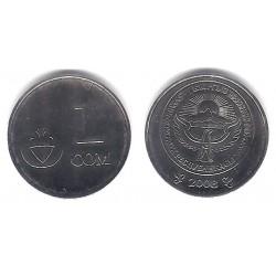 (14) Kirguizistán. 2008. 1 Som (SC)