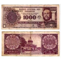 (214b) Paraguay. 2001. 1000 Guaranies (BC)