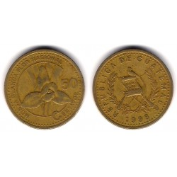 (283) Guatemala. 1998. 50 Centavos (BC)