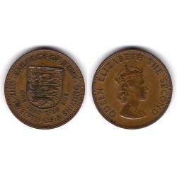 (23) Jersey. 1960. 1/12 Shilling (MBC)
