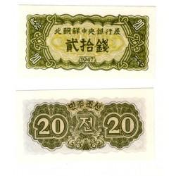 (6b) Corea del Norte. 1974. 20 Chon (SC)