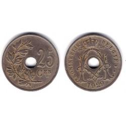 (69) Bélgica. 1929. 25 Centimes (BC+)