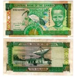 (17) Gambia. 1996. 10 Dalasis (MBC)