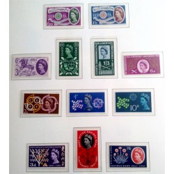 (375 a 386) Gran Bretaña. 1960-61. Serie Completa (Nuevo)