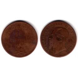 (11.3) Italia. 1867(H). 10 Centesimi (BC)