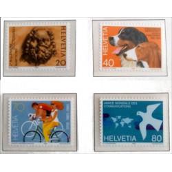 (740 a 743) Suiza. 1983. Serie Completa (Nuevo)