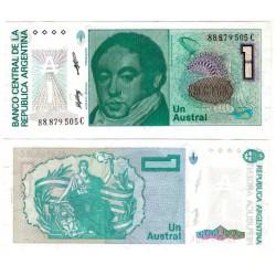 (323b) Argentina. 1985-89. 1 Austral (SC)