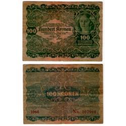 (77) Austria-Hungria. 1922. 100 Kronen (MBC-)