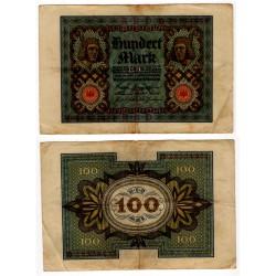 (69) Imperio Alemán (Weimar). 1920. 100 Mark (MBC)