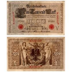 (44a) Imperio Alemán. 1910. 1000 Mark (MBC)