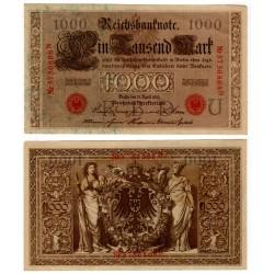 (44b) Imperio Alemán. 1910. 1000 Mark (EBC+)