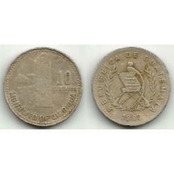 (277.4) Guatemala. 1983. 10 Centavos (BC)