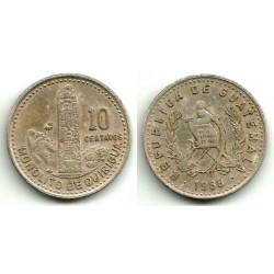 (277.5) Guatemala. 1988. 10 Centavos (BC+)