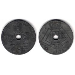 (131) Bélgica. 1943. 25 Centimes (MBC-)