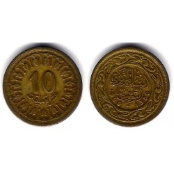 (306) República Tunecina. 1960. 10 Millim (BC+)