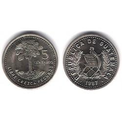 (276.4) Guatemala. 1987. 5 Centavos (EBC+)