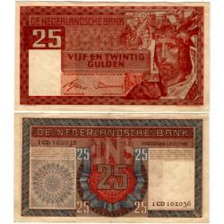 (84) Países Bajos. 1949. 25 Gulden (EBC-)