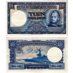 (83) Países Bajos. 1949. 10 Gulden (EBC)