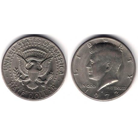 (202b) Estados Unidos de América. 1972(D). Half Dollar (MBC)