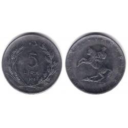 (905) Turquia. 1979. 5 Lira (EBC)