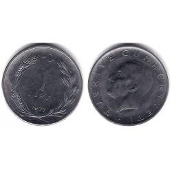 (889) Turquia. 1977. 1 Lira (EBC+)