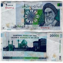 (150A) Irán. 2009. 20000 Rials (MBC) Manchas