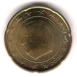 Bélgica. 2000. 20 Céntimos (SC)