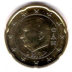 Bélgica. 2011. 20 Céntimos (SC)