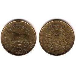 San Marino. 2018. 5 Euro (SC) Taurus