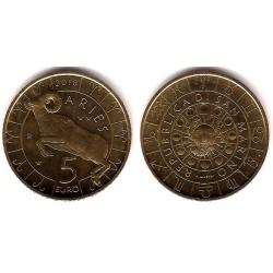 San Marino. 2018. 5 Euro (SC) Aries