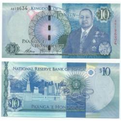 (46) Tonga. 2015. 10 Pa'anga (SC)