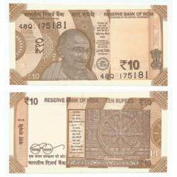 India. 2018. 10 Rupee (SC)
