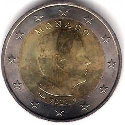 Mónaco. 2 Euro. 2011 (SC)