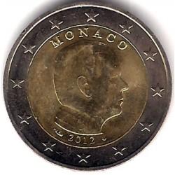 Mónaco. 2012. 2 Euro (SC)
