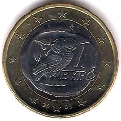 Grecia. 2002. 1 Euro (SC)