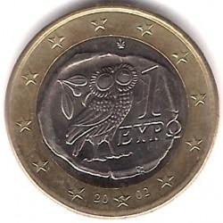Grecia. 2002(S). 1 Euro (SC)