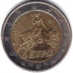 Grecia. 2002(S). 2 Euro (SC)