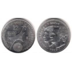España. 2002. 12 Euro (SC)