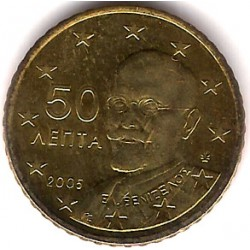 Grecia. 2005. 50 Céntimos (SC)