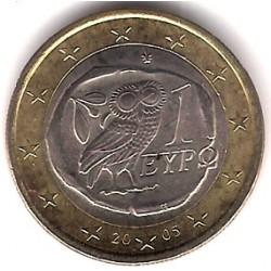 Grecia. 2005. 1 Euro (SC)