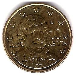 Grecia. 2007. 10 Céntimos (SC)
