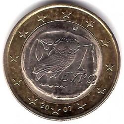 Grecia. 2007. 1 Euro (SC)