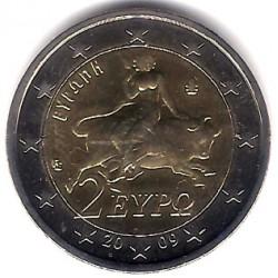 Grecia. 2009. 2 Euro (SC)