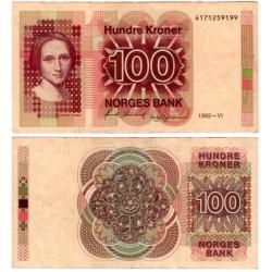 (43d) Noruega. 1992. 100 Kroner (MBC)