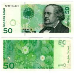 (46c) Noruega. 2008. 50 Kroner (SC-)