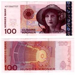 (49c) Noruega. 2006. 100 Kroner (SC-)