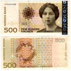 (51a) Noruega. 1999. 500 Kroner (SC)